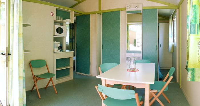chalets confort au camping Val-Vert - charente-maritime