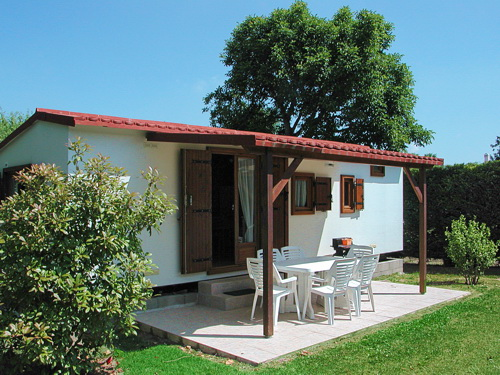 chalets au camping Val-Vert - charente-maritime